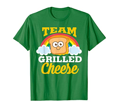 Team Grilled Cheese Shirt | Cute Love Grilled Cheddar Gift
