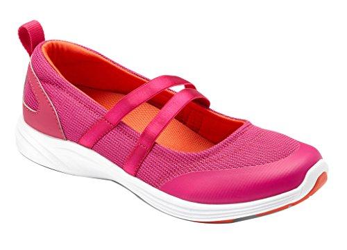 Vionic Womens Agile Opal Slip-On Mary Jane Sneaker Pink Size 10 Wide