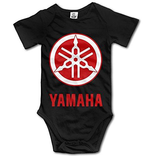 Price comparison product image MNSTK Baby's Bodysuit Romper Jumpsuit Yamaha Logo Black