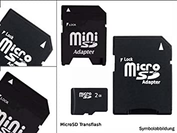 Micro Secure Digital (Micro SD) 2 GB Tarjeta De Memoria 3 En ...