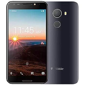 Alcatel Revvl 5049W 32GB Android Nougat 7.0 Fingerprint Secured Smartphone T-Mobile (Renewed)