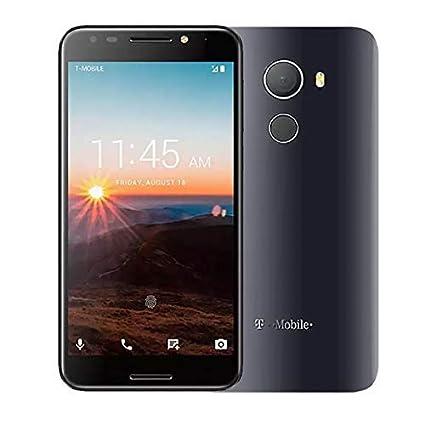 Alcatel Revvl 5049W 32GB Android Nougat 7 0 Fingerprint Secured Smartphone  T-Mobile (Renewed)