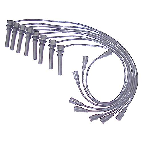 ACCEL 138020 Spark Plug Wire Set 90 Degree Wire Straight Boot 8 Piece Set Spark Plug Wire Set