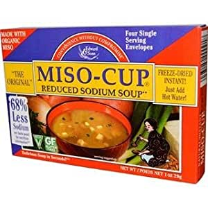 How much sodium in miso soup