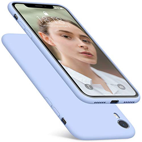 (DTTO Case for iPhone XR, [Romance Series] Silicone Case with Hybrid Protection for Apple iPhone XR 6.1 Inch - Light)