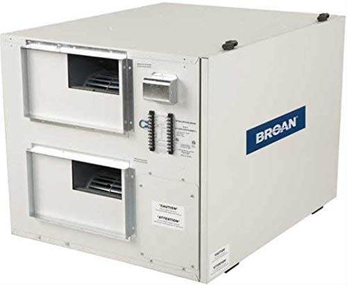 Broan B12LCEPRNW 1170 CFM Commercial Grade Heat Recovery Ventilator with Exhaust Only Defrost and Reverse Access Door