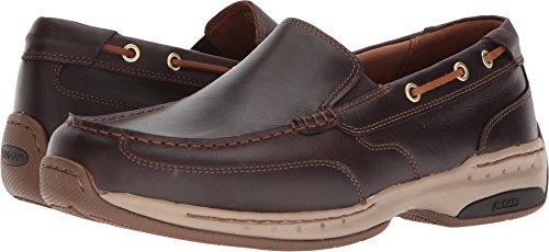 Dunham Men's Waterford Slipon Boat Shoe, tan, 12 6E US