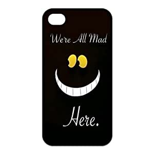 good case We're all mad here Cheshire Cat Smile Face Unique Apple iPhone 6 4.7 Durable TPU Plastic Case Cover Personalized Treasure DIY By WorldestCase
