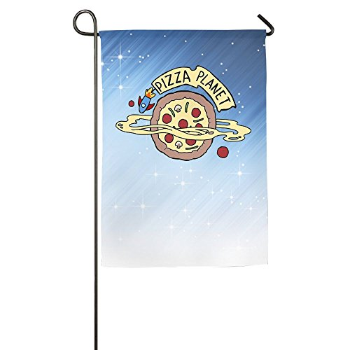 (Buecoutes PIZZA PLANET Home Family Party Flag 1218inch Hipster Welcomes The Banner Garden)