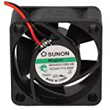 SUNON MB40202V2-0000-A99 Fan, 24 VDC, 7.7 CFM, Vapo, Ul/Cul/Tuv, 40 mm x 40 mm x 20 mm Size