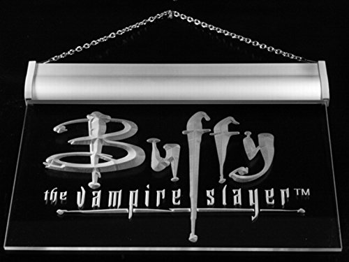 Buffy the Vampire Slayer Movie LED Neon Light Sign Man Cave G137-W