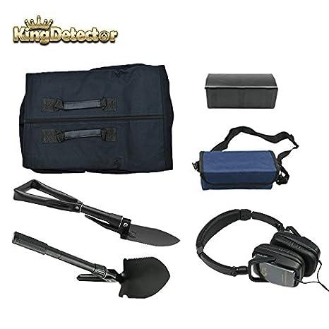 kingdetector Detector de metales Treasure Hunter Oro encontrar Detección de accesorios Parte Kit de 5 piezas: Amazon.es: Jardín
