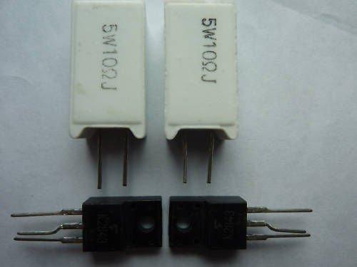Generic mpf7409 Bloc d'alimentation Kit de ré paration pour Hitachi 42PD5000 42PD5200 32pd5000 32PD5200 K2843 2sk2843 KPMS93