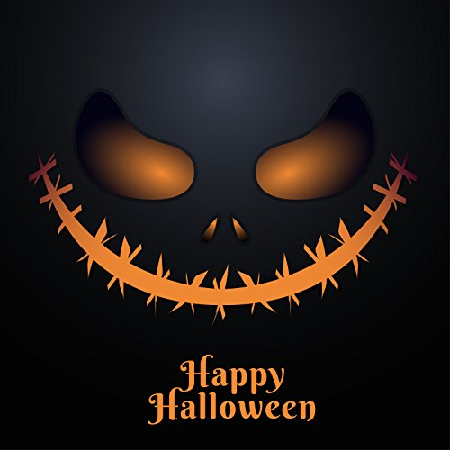 EzPosterPrints - Happy Halloween Posters - Witch,Bats,Moon,Walking Dead,House