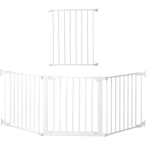 Cheap Kidco Auto Close Configure Gate with additional 24″ Extension, White