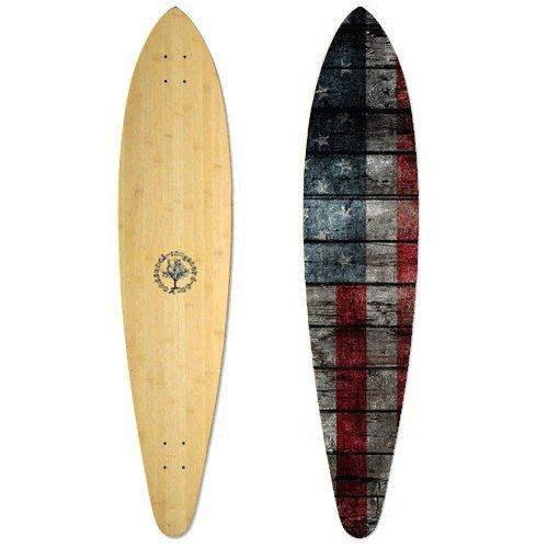 Woodstock Drifter Bamboo Pin 46 Inch Longboard Deck