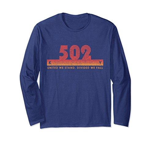 Unisex Kentucky Area Code 502 Shirt Vintage Retro State Motto Gift Large Navy - Kentucky State Motto