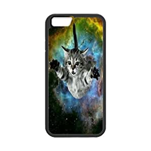 "Space cat flying Design Unique Customized Hard Case Cover for iPhone6 Plus 5.5"", Space cat flying iPhone6 Plus 5.5"