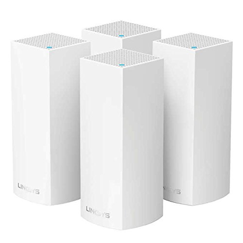 Linksys Velop Tri-Band Whole Home Wi-Fi System, 4-pack