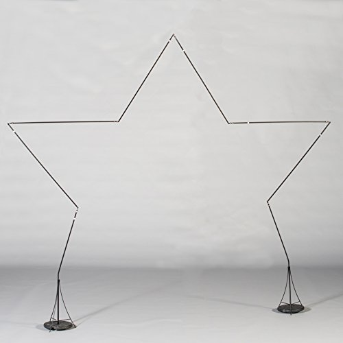 Shindigz Star Balloon Arch Standup Photo Booth Prop Background Backdrop Party Decoration Decor Scene Setter Cardboard -