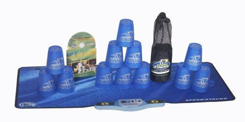Play Along Speed Stacks Stackpack - Blue