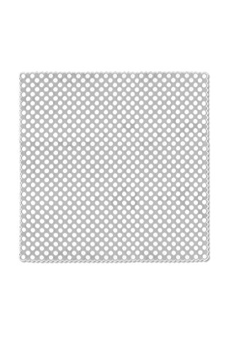 Heritage Lace Polka Dot Table Topper, 58 by 58-Inch, White