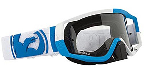 Dragon Mx Goggle Vendetta J Block Blue White Clear AFT 722-1281 (Dragon Vendetta Goggles)