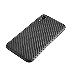 For Apple iPhone XR 6.1-inch Carbon Fiber Scrub Ultra-Thin Phone Case Cover, Black