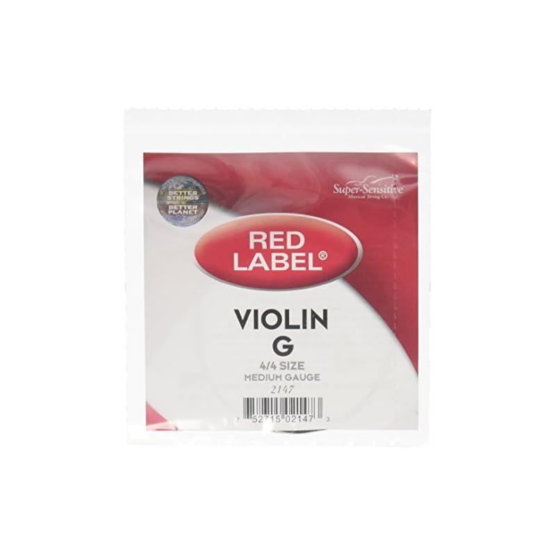 Super Sensitive Red Label 2147 Violin G