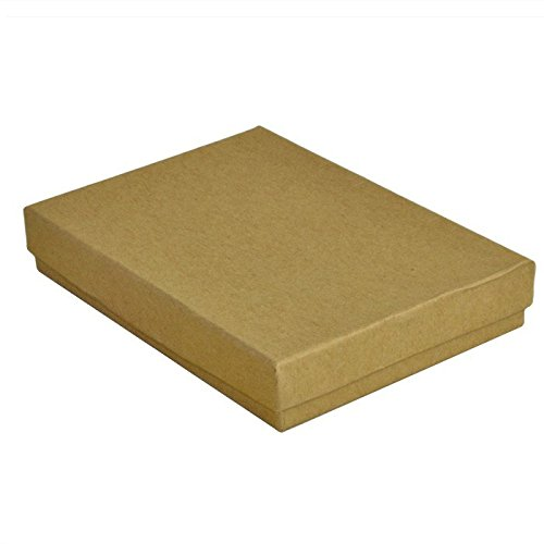 Kraft Cotton Filled Boxes #53 - Pack of 100 by Display and Fixture Store (Image #1)