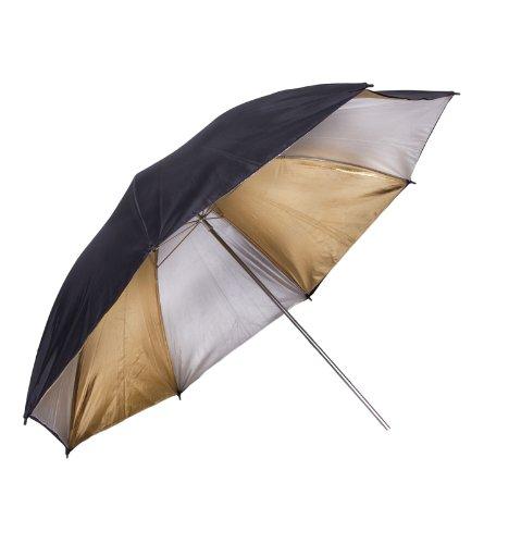 Promaster Professional Series Black/Gold/Silver Umbrella - 60''