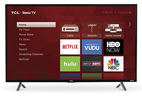 Class Led 120 Hz (TCL 40S305 40-Inch 1080p Roku Smart LED TV (2017 Model))