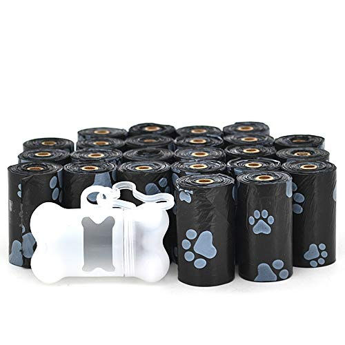 Best Pet Supplies Dog Poop Bags for Waste Refuse Cleanup, Doggy Roll Replacements for Outdoor Puppy Walking and Travel…