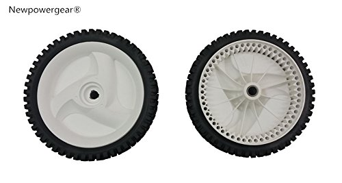 Newpowergear Brand New Generic Mower Front Drive Wheels Replacement For Craftsman 917376168 917376169 917376530 917376532 917376533 917376534 917376536 917376537 917376543