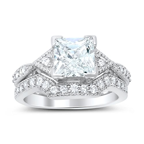 Trillion Accented Ring - 4