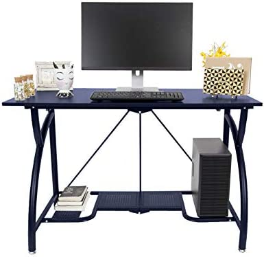 Origami Multi-Purpose Computer Desk for Home and Business Navy, Large