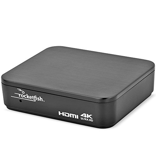 2 Hdmi Output Splitter (Rocketfish 2-Output HDMI Splitter, 4K Ultra HD and HDR Compatible, with 4K and HDR Pass-through, RF-G1502)