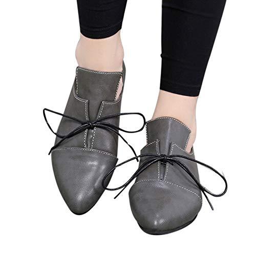 Corto Mujeres Seasons Four Señaló Tobillo Origine ALIKEEY Gris Mujer Unisex Casual De Bota Piso Zapatos Sexy Vendaje w1xRqTpA