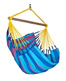 LA SIESTA Sonrisa Wild Berry - Weather-Resistant Basic Hammock Chair