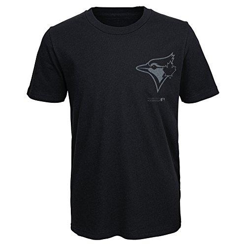 (MLB  Toronto Blue Jays Youth Boys 8-20 Stadium Lights Tee-S)