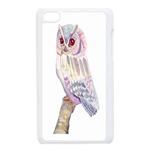 Cute Owl Hard Shell Cell Phone Case Cover for Ipod Touch Case 4 HSL438844