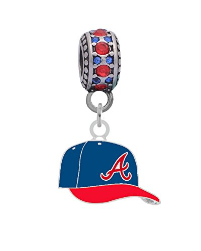 Atlanta Braves Ball Cap Charm