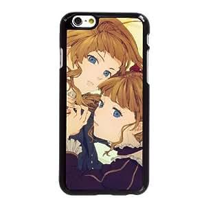 Funda iPhone 6 6S Plus de 5.5 pulgadas del teléfono celular Funda Negro Beatrice - Umineko cuando lloran V2N7QY