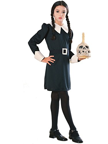 [Wednesday Addams Costume - Large] (The Addams Family Wednesday Costumes)