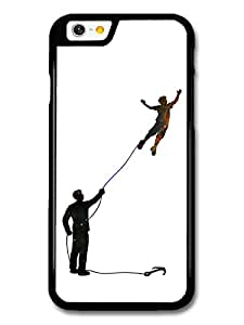 Inspired Flying Boy Original Art Illustration carcasa de iPhone 6 6S