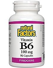 Natural Factors B6 100 mg, 90 Caps
