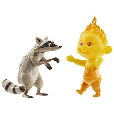 Raccoon & Jack-Jack Figures: Toys & Games