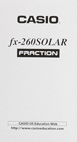 Steck-Vaughn GED Calculator: Casio fx-260 Solar Calculator (1-49)