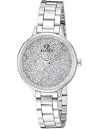 Women's Gemma Quartz Stainless Steel Strap, Silver, 12 Casual Watch (Model: RB0246)