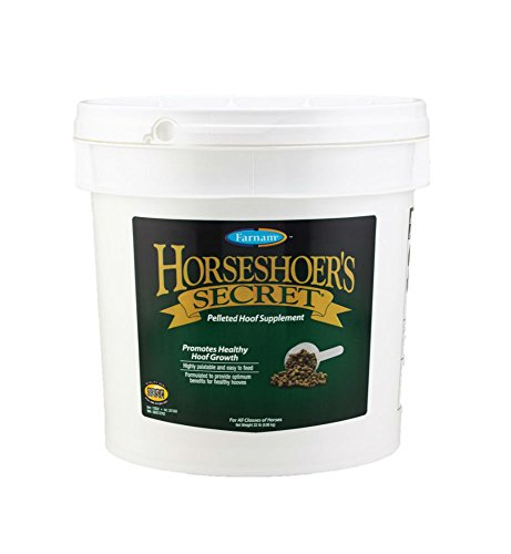 Farnam Horseshoer's Secret Pelleted Hoof Supplement for Horse, 22-Pound ()